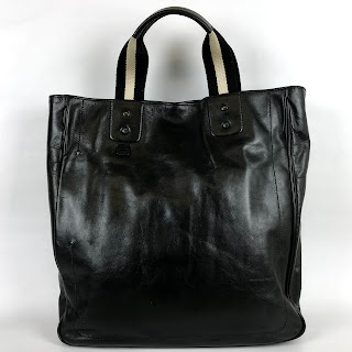 Bally Black Leather Shoulder Tote
