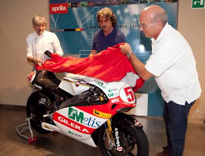 Marco Simoncelli Fondation Aprilia Racing