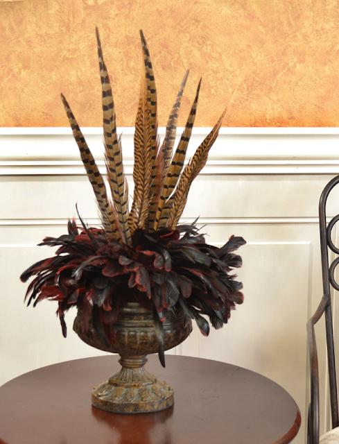 Feather arrangement $139.95 inspiration