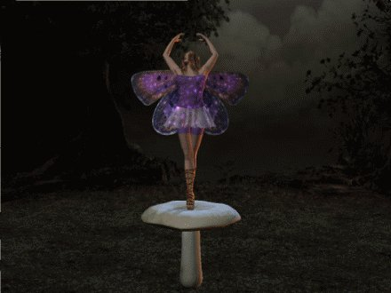 Fairy Mushroom, Fairies Girls
