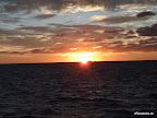 Sonne über dem Great Barrier Reef