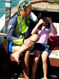 family trip pulau pari 140716 Fuji 080