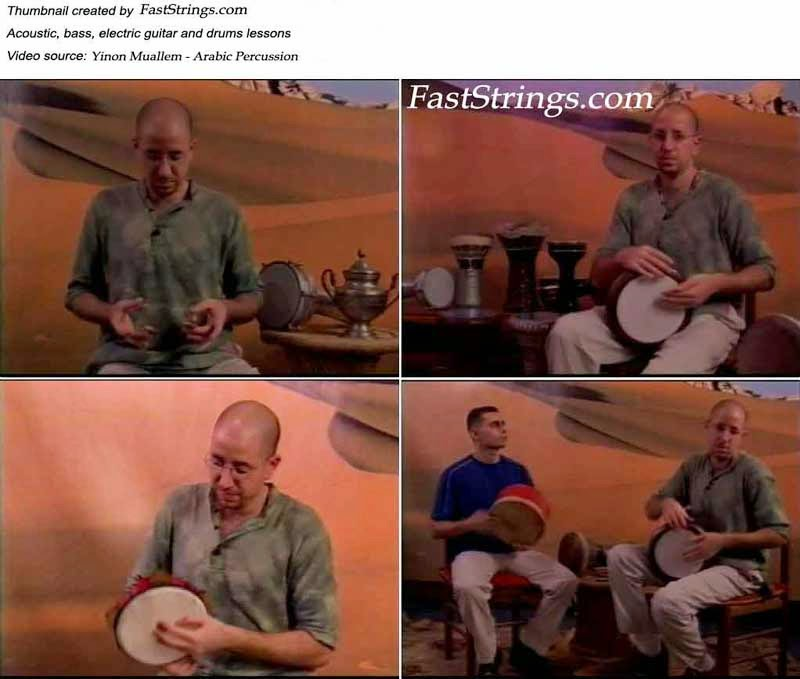 Yinon Muallem - Arabic Percussion