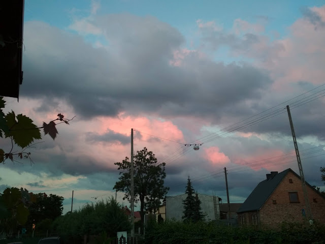 Obornickie odcienie letniego nieba.