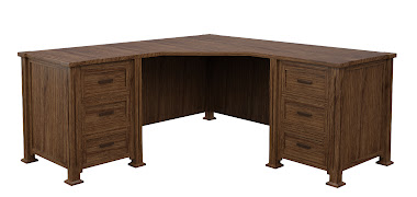Sacramento L-Shaped Desk
