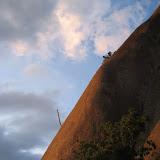 Fotos da caída do piñeiro da vía Pinos en Faro de Budiño (O Porriño).