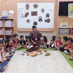 Brown Day Celebration by Nursery Afternoon Section at Witty World, Chikoowadi (2018-19)