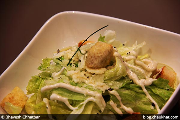 House Style Caesar's Salad served at 212 All Day Cafe & Bar at Phoenix Marketcity in Pune