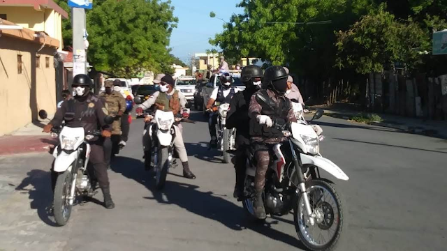 Policía Nacional realiza operativo en la Región Enriquillo.