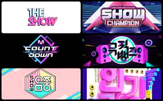 A review of the six South Korean music shows