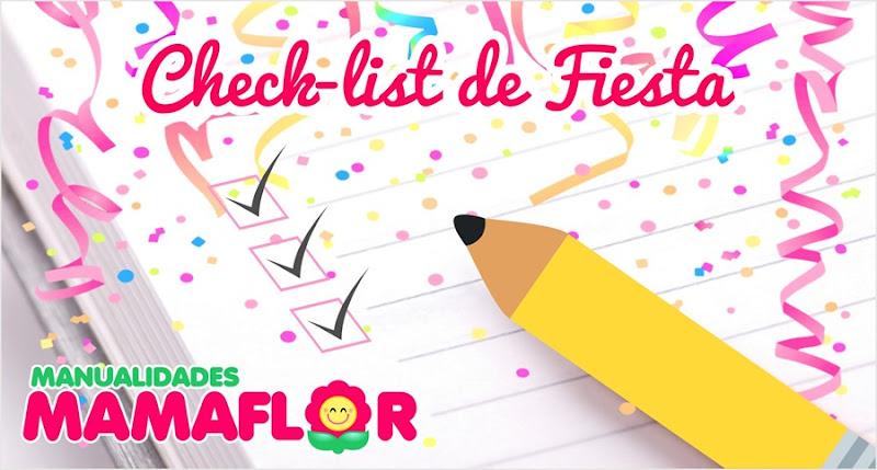 CheckList Organizar Fiesta, paso a paso
