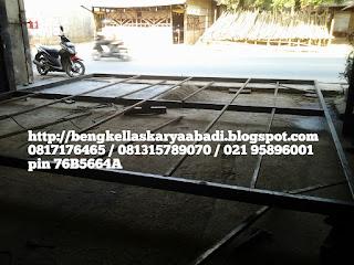Pemasangan kanopi spandek jabodetabek
