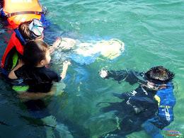 family trip pulau pari 140716 Fuji 069
