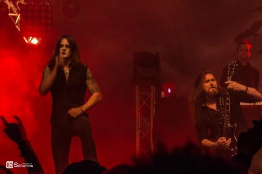 Satyricon au Hellfest 2015