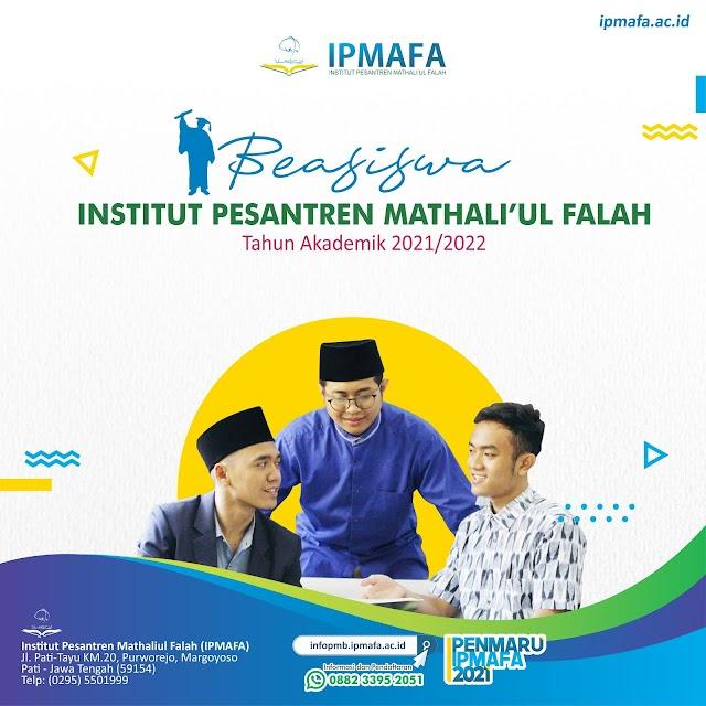 Beasiswa IPMAFA Tahun Akademik 2021/2022