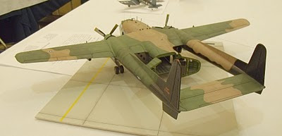Fairchild AC-119 Stinger gunship model kit