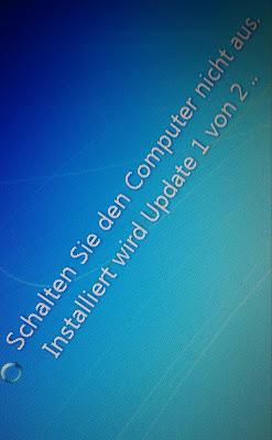 update windows installation abbrechen