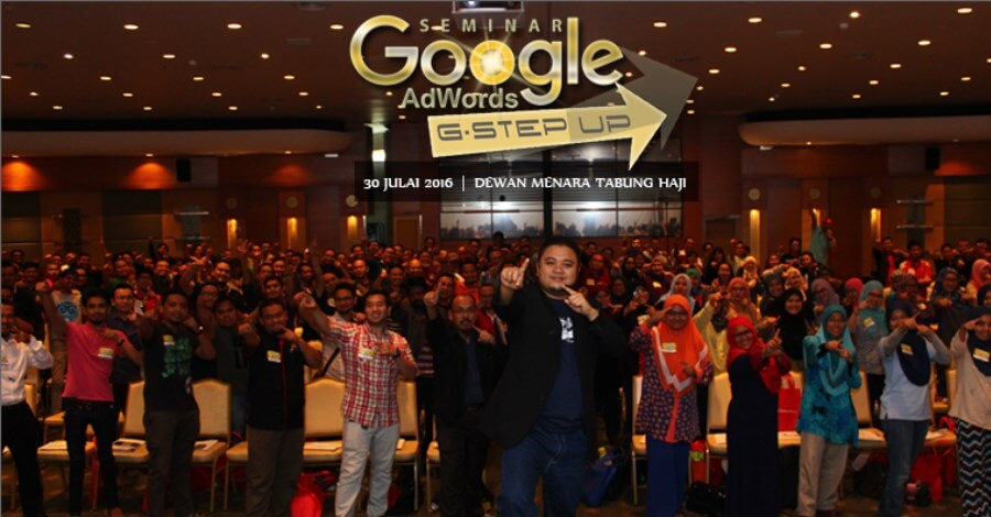 Seminar Google Adwords G Step Up Tuan Wan Mus