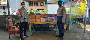 BRI Cabang Watan Soppeng Salurkan Bantuan di Posko Jaga Perbatasan