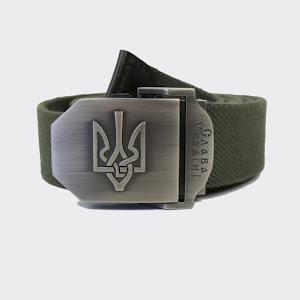 емінь з Гербом України - олива: H8058-02
