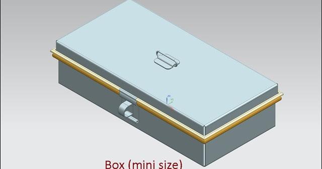 3d Solid Modelling Videos Box Mini Size Video