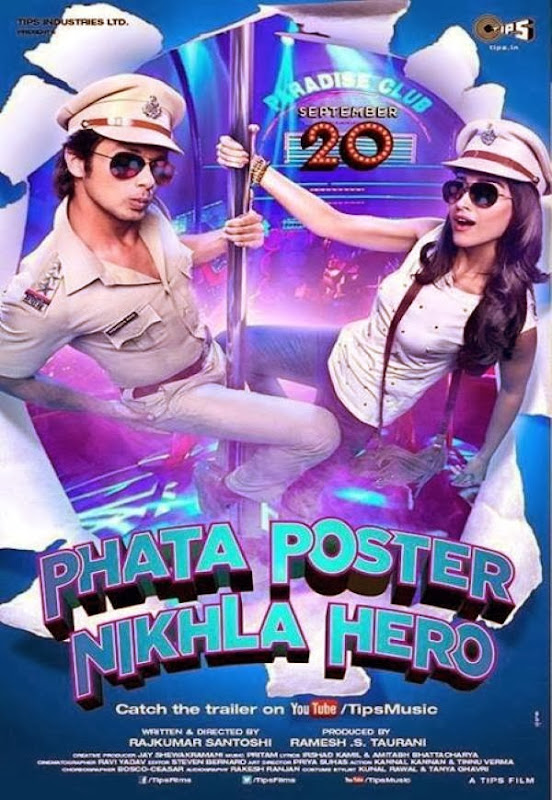 Cover of Phata Poster Nikhla Hero (2013) Hindi Movie Mp3 Songs Free Download Listen Online at Alldownloads4u.Com