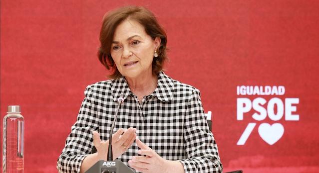 Carmen Calvo. Jornadas PSOE