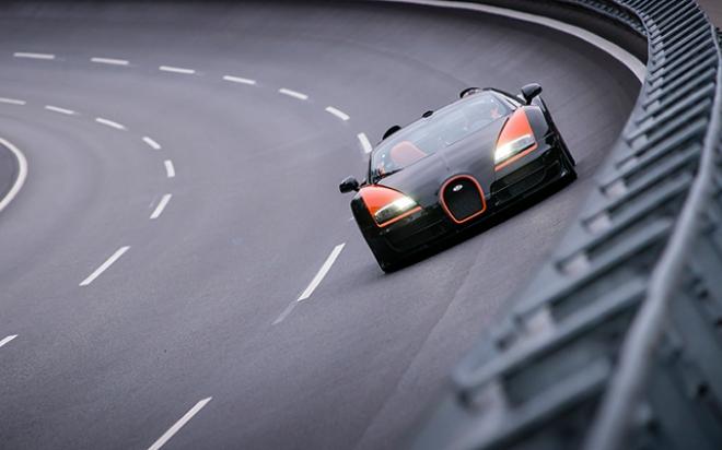 Bugatti короновал Veyron Grand Sport Vitesse как самый быстрый родстер в мире