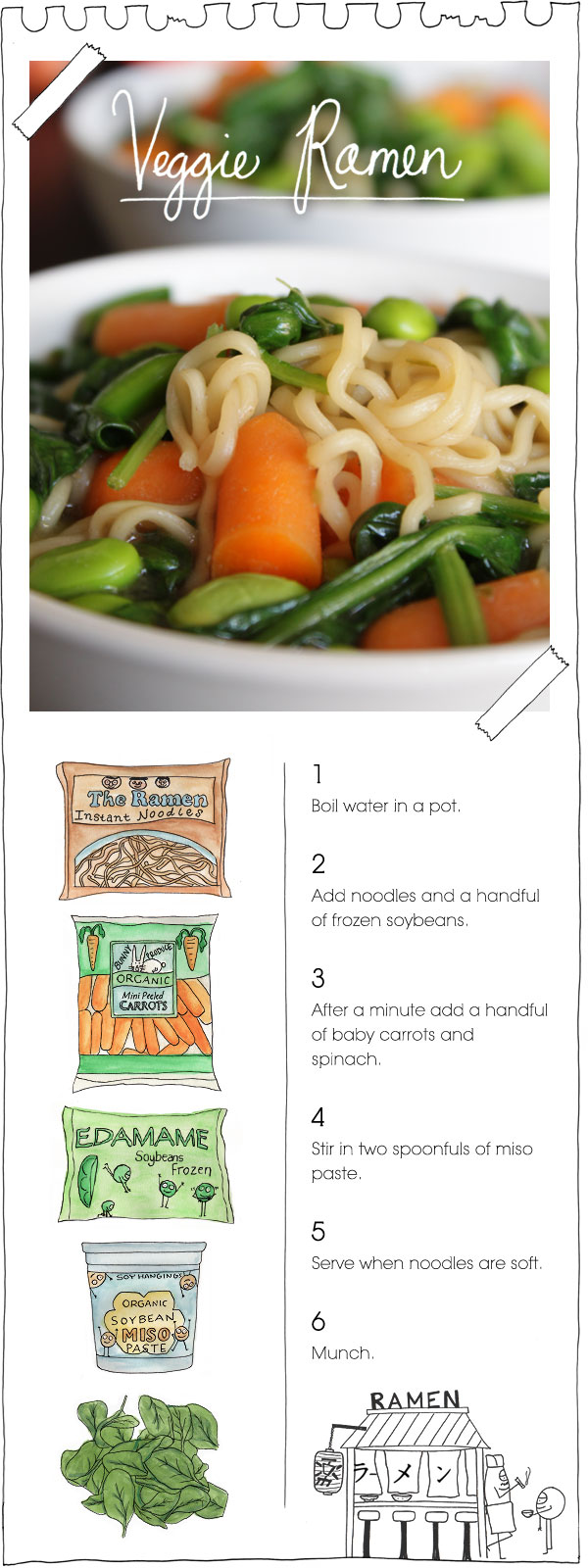 The Vegan Stoner's Veggie Ramen