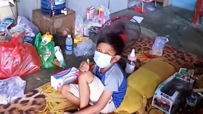 Dibangunkan Rumah, Bocah Yatim Piatu Karena Covid-19 Asal Kaltim Bakal Dibawa ke Sragen