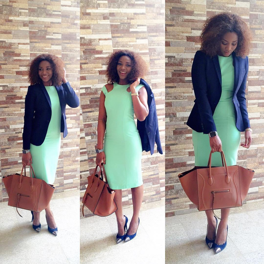 AMAZING OFFICE GOWN STYLES FOR NIGERIAN LADIES IN 2019 1