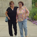 Pam and Bonnie at Phipps Conservatory.