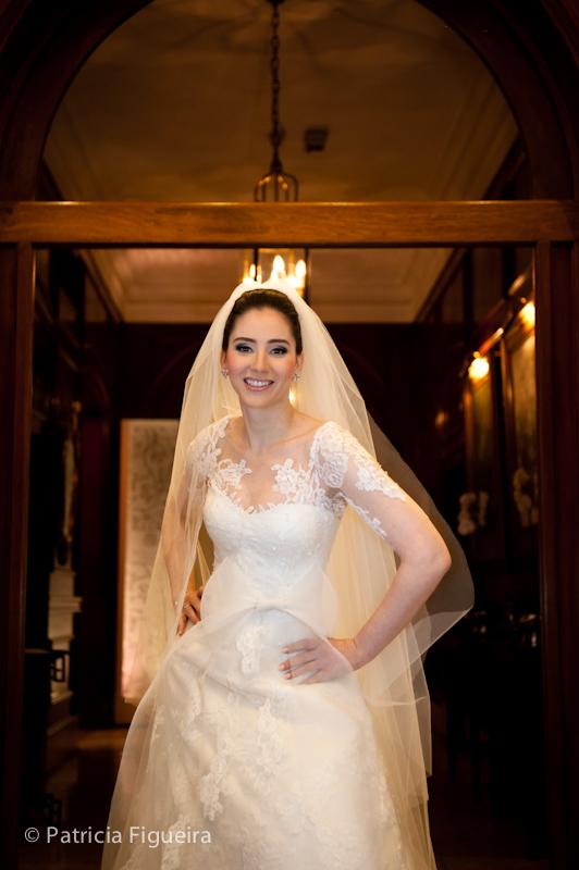 Foto de casamento 0374 de Mônica e Rafael. Marcações: 03/09/2011, Casamento Monica e Rafael, Fotos de Vestido, Glorinha Pires Rebelo, Rio de Janeiro, Vestido, Vestido de Noiva.