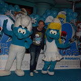 WWW.ENTSIMAGES.COM -  Jamie Edward   at       The Smurfs 2 - gala film screening at Vue West End (Leicester Square), London, July 28th 2013                                                  Photo Mobis Photos/OIC 0203 174 1069