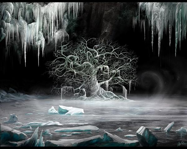 White Tree Of Ice, Magical Landscapes 2