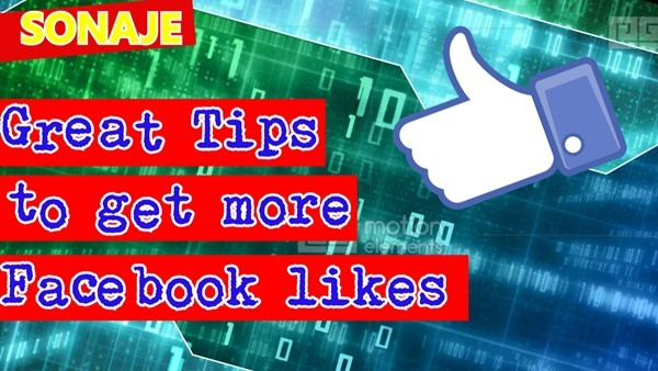 great tips to get more facebook likes