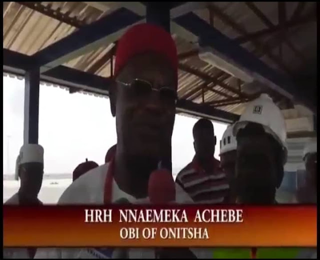 Here are videos updates on the second Niger Bridge in Onitsha