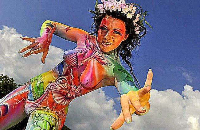German Body Art Festival  Offbeat Earth