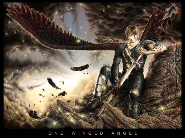 One Winged Angel By Keitaro, Angels 1