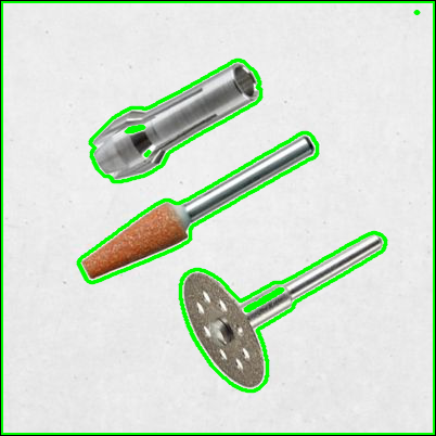 Detección y extracción de contornos con OpenCV