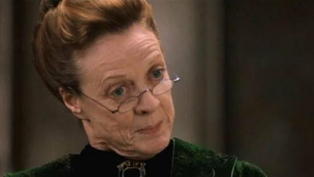 Em 4 de outubro de 1946 aos 11 anos de idade Minerva McGonagall recebia sua carta de Hogwarts.