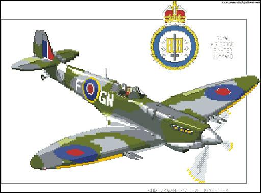 Supermarine Spitfire chart