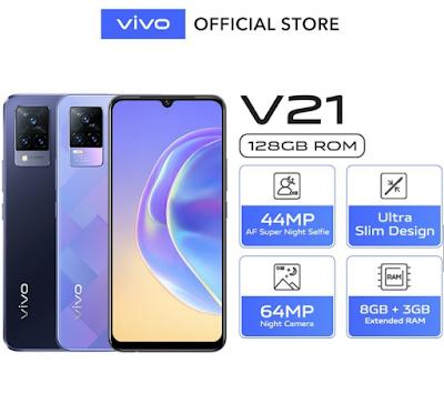Spek Vivo V21
