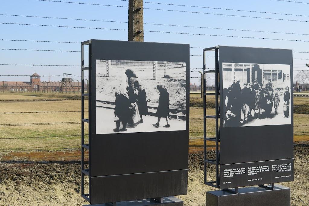 Auf der Rampe wurden einige der bewegendsten Fotos des Holocaust aufgenommen