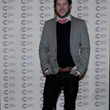 WWW.ENTSIMAGES.COM -  Matt Cardle   arriving at a Fundraising event in aid of Cancer Research UK at The Roof Gardens Kensington High Street, London April 3rd 2013                                                    Photo Mobis Photos/OIC 0203 174 1069