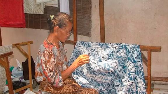 Perempuan Penjaga Seni Membatik, Terancam Punah Akibat Himpitan Pandemi