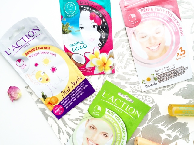 l'action paris uk masks sheet masks patches mud masks review