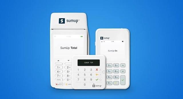 Maquininhas de cartão SumUp com 5% de desconto