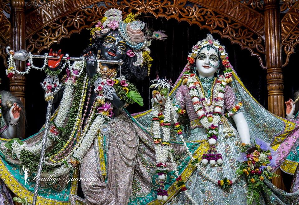 ISKCON Mayapur  Deity Darshan 22 July 2016 (1)