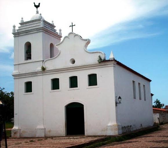 Igreja de Nossa Senhora do Rosário dos Pretos - Alcantara, Maranhao, foto: Wikigogo